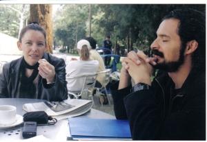 Dra. Reyna Carretero y Mtro. César García Razo